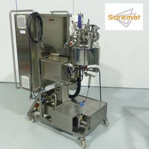4 L INOXPA Cuve de fabrication avec chauffage par resistance electrique