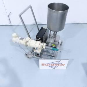K-TRON trémie + pompe à rotor excentré