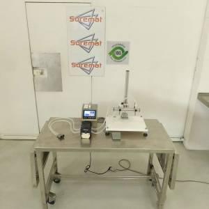 Remplisseuse 2 becs avec pompe péristaltique 3L/mn